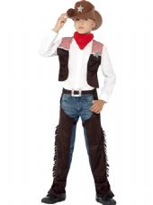 Childs Deluxe Cowboy Costume